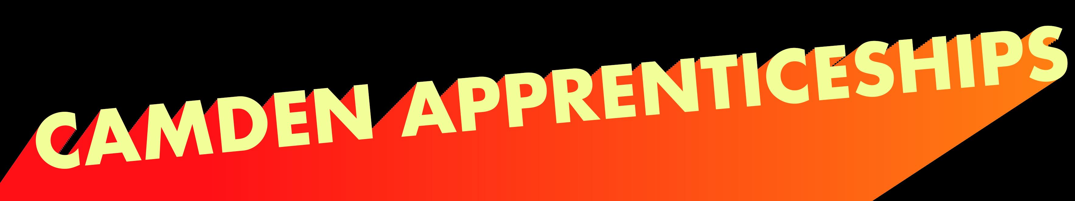 Camden Apprenticeships Banner